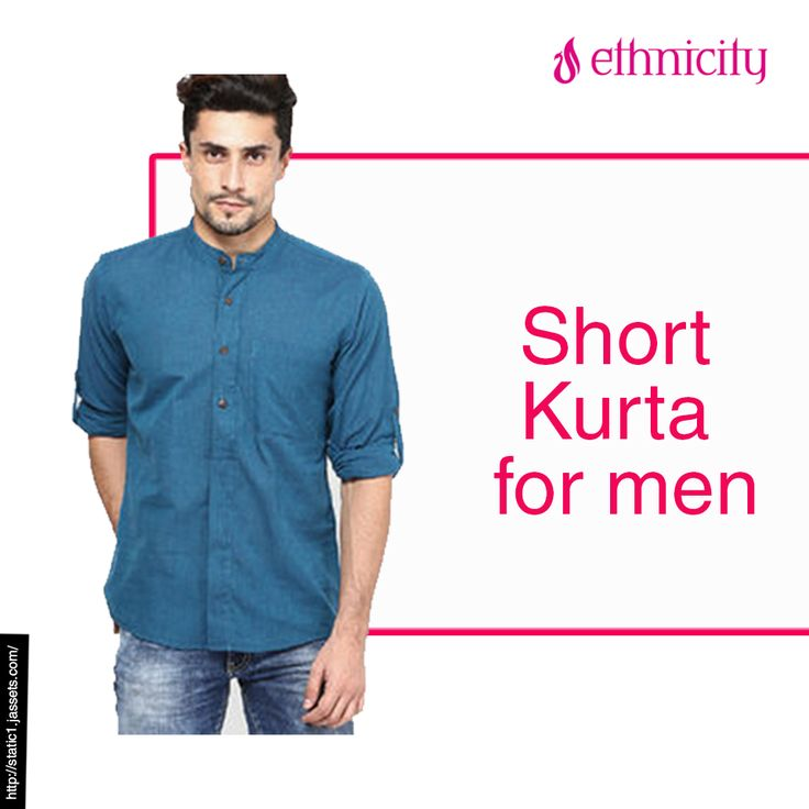 You can never look 'just normal' in a short kurta! Check out our wide variety of short kurtas for men at the nearest store. #Ethnicity #fashion #Ethnicity #menswear #fashion #menswear