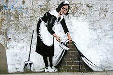De bijzondere straatgraffiti van Banksy - Nieuws - Droomplekken