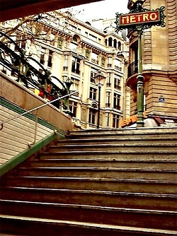 Saint michel metro station paris by paris - Saint michel paris metro ...