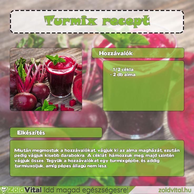 Cékla turmix recept #cékla #turmix