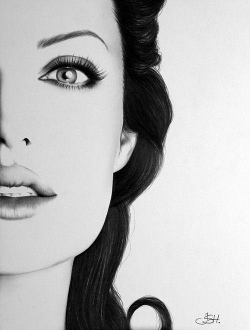 Alguns artistas conseguem impressionar com a qualidade com que fazem desenhos. Alguns são tão especiais, que até parecem retratos reais. Confira alguns deles, feitos por vários artistas.