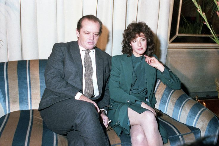 Jack Nicholson and Debra Winger