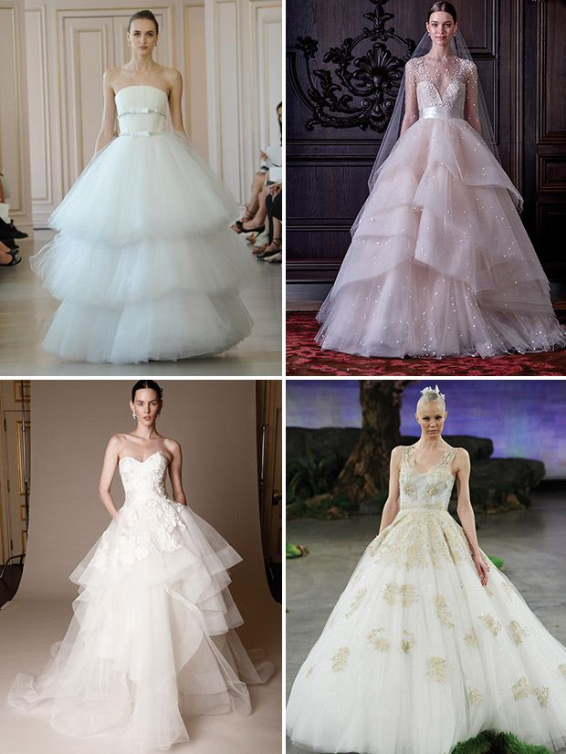 Fresh Our Top Trends from Spring New York Bridal Fashion Week