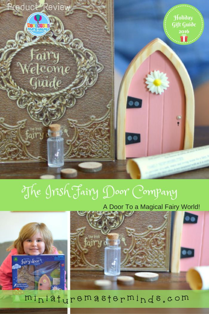 Share this: The Irish Fairy Door Company Holiday Gift Guide Review What could be better than a magical door that leads to fairy land and their own magical fairy to love?!?! The Irish Fairy Door Company bring just that to the Holidaysthis year with this adorable fairy door set. My little fairy enthusiast couldn't take …
