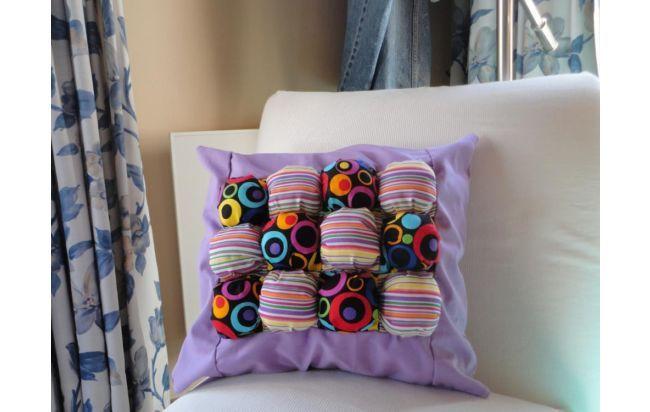 almohadon 50 x 40 duné patchwork decorativo