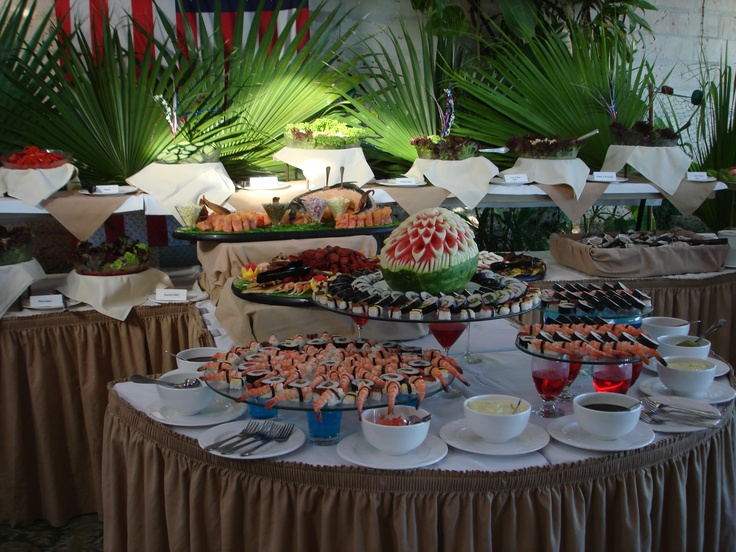 Pompano Beach Club on July 4th. Lobsters, steak, chicken and a salad and seafood buffet that is out of this world.  You need to save room for the buffet dessert table.