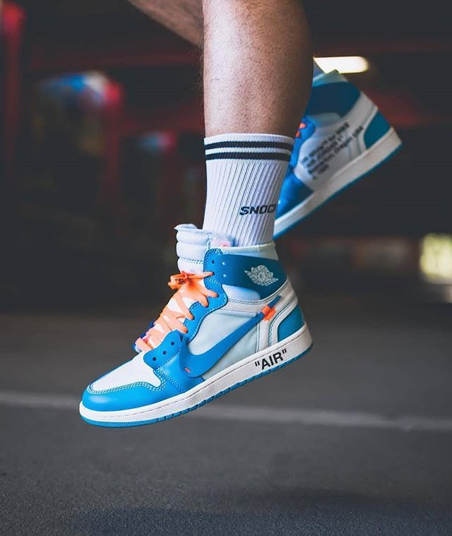 online store c8080 4bd3c  pascal me0681 in our retro socks and the Nike Off White Jordans! How do  you like this combo   SNOCKS  socks  sneaker  nike  offwhite  air  fashion  ...