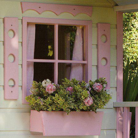 So Cute! Pink cottage window