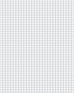 Free Knitter's Graph Paper  Compatible With Peaches & Creme Yarn or Other Similar Yarns