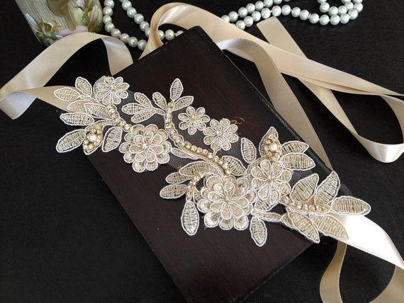 Rhinestone Wedding Headband Bridal Hair Accessories by alarasstore