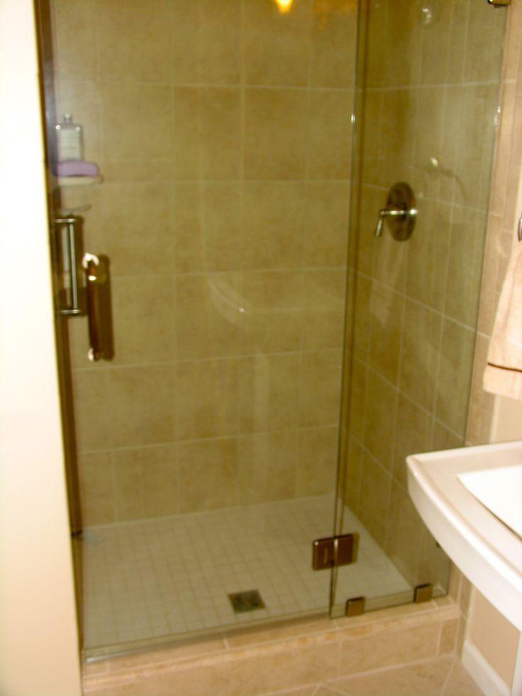 stand up shower tile bathroom tile pinterest