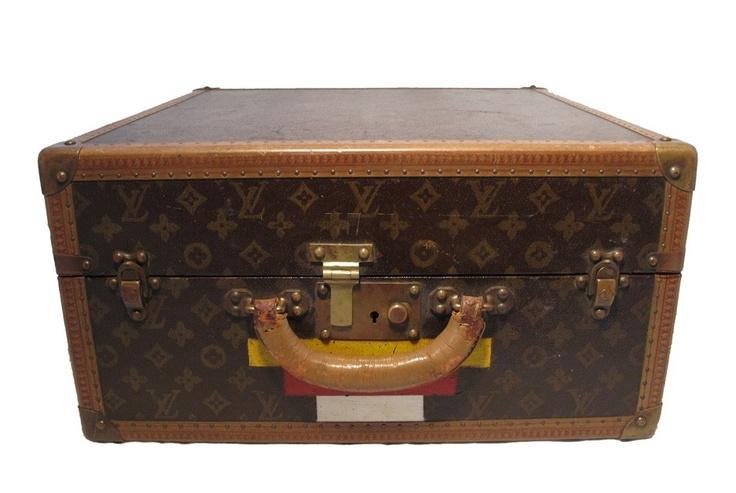 Louis Vuitton 1930s Vintage Monogram Canvas Hatbox. Perfection.....