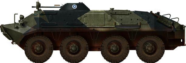 Finnish BTR-60