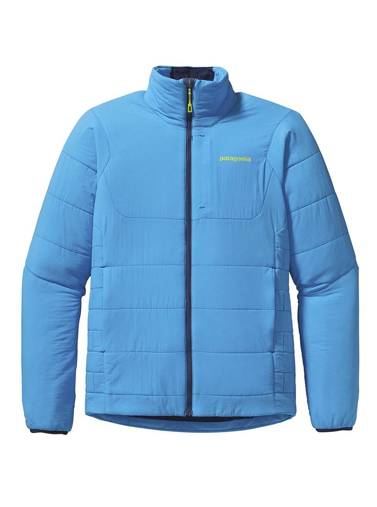 The Patagonia Nano Air Jacket is the perfect mid-layer for those cold sunny days on the mountain where you want to do endless laps. Pick your favorite color at Patagonia in the Village.