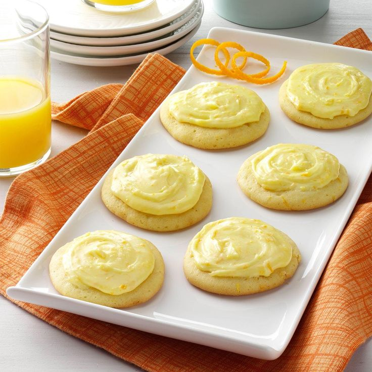 Grandma Brubaker's Orange Cookies Recipe -At least two generations of my family have enjoyed the recipe for these light, delicate, orange-flavored cookies. —Sheri DeBolt, Huntington, Indiana
