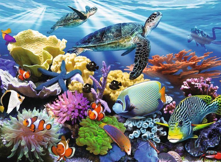 ocean turtles  children's puzzles  2d puzzles  shop