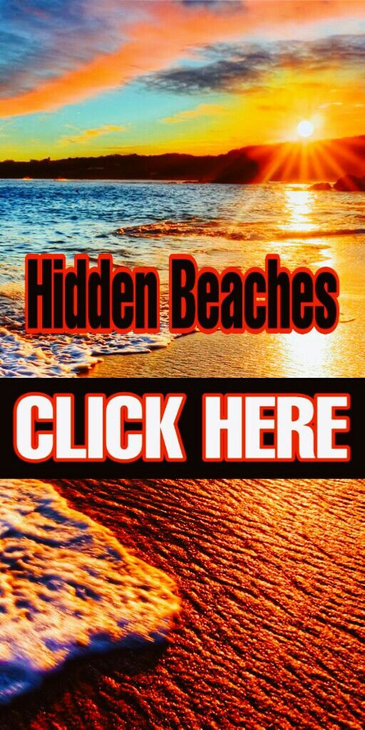Hidden Beaches Around The World ❤