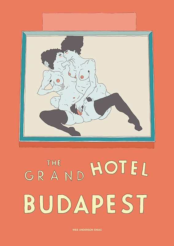 The Grand Hotel Budapest fan movie poster.