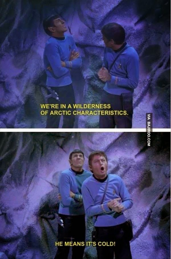 This is fantastic. I need to watch more classic Star Trek