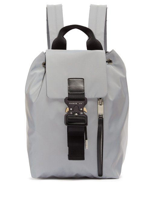 5f35875e ALYX Tank reflective backpack. #alyx #bags #leather #lining #backpacks # cotton
