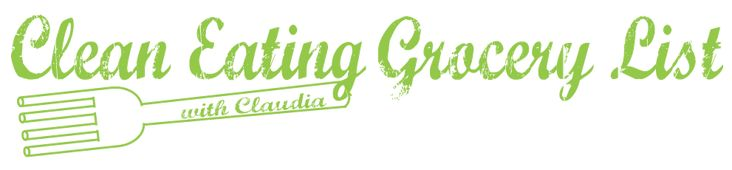 Clean Eating Grocery List - HASfit Printable Healthy Grocery List