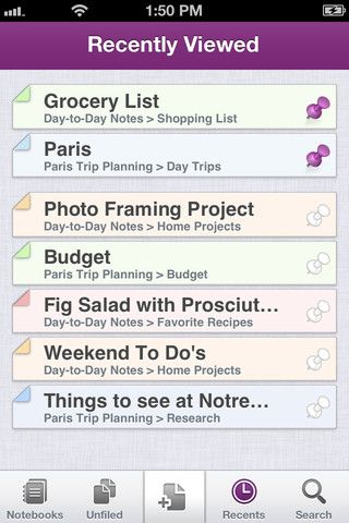 Microsoft OneNote. Microsoft OneNote for iPhone is a note-taking app for capturing all of your ideas and to-dos on the go, brought to you by Microsoft Office