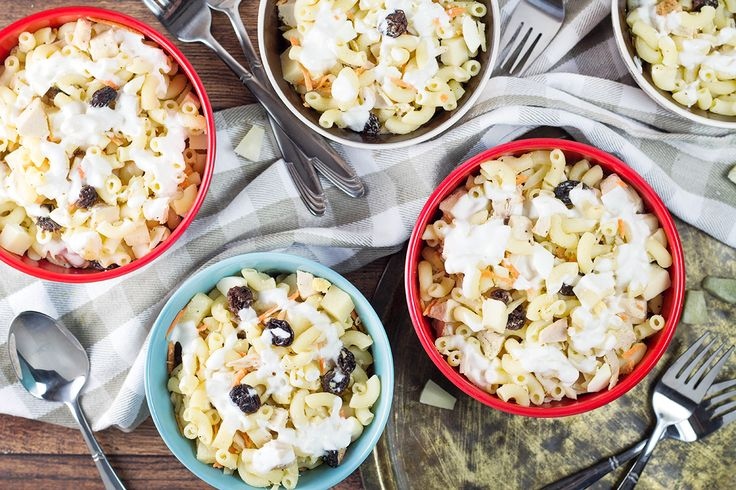 This Filipino Macaroni Salad version is packed with chicken, cheese, pineapple, and other goodness. Mildly sweet, creamy, and comforting!