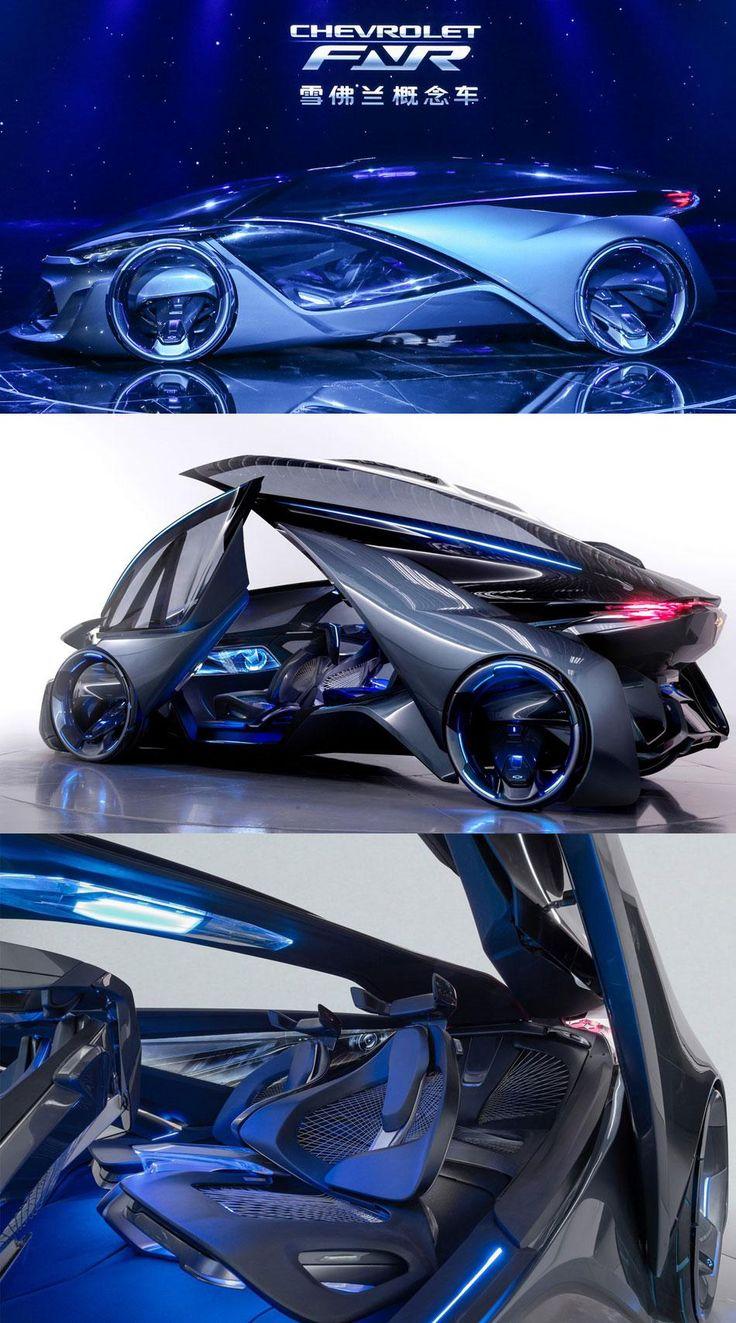 Chevrolet's new FNR vehicle concept.