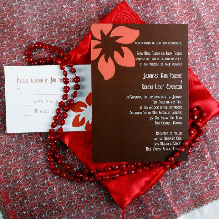 wedding card wordings simple%0A Affordalbe Brown And Pink Simple Mexican Wedding Card EWI