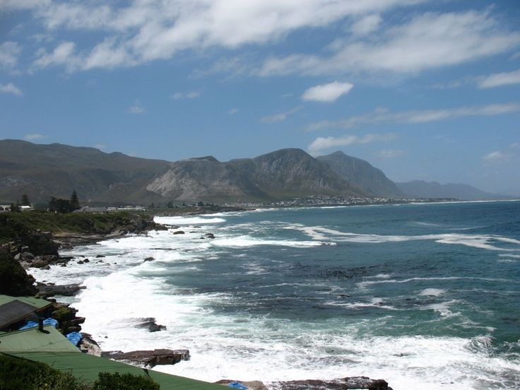 Hermanus is a town located in South Africa that is famous for its whale watching.
