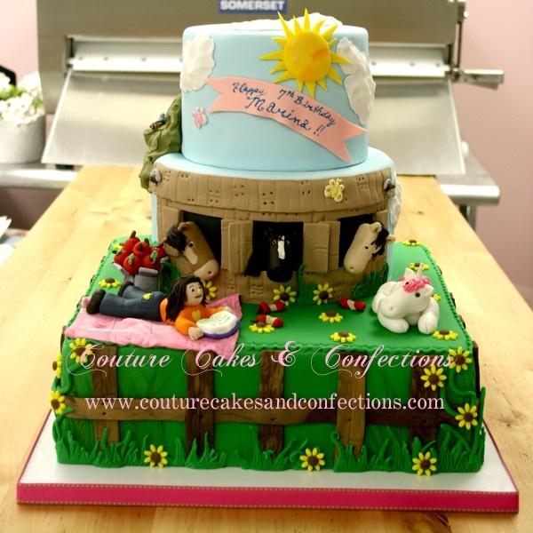 Horse Birthday Cakes Pinterest
