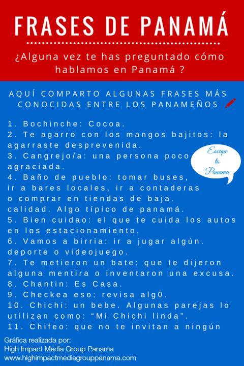 Frases de Panamá Infographic