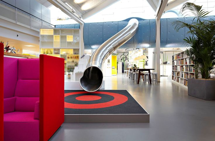 Office Slide, LEGO PMD by Rosan Bosch and Rune Fjord #office #greatideas