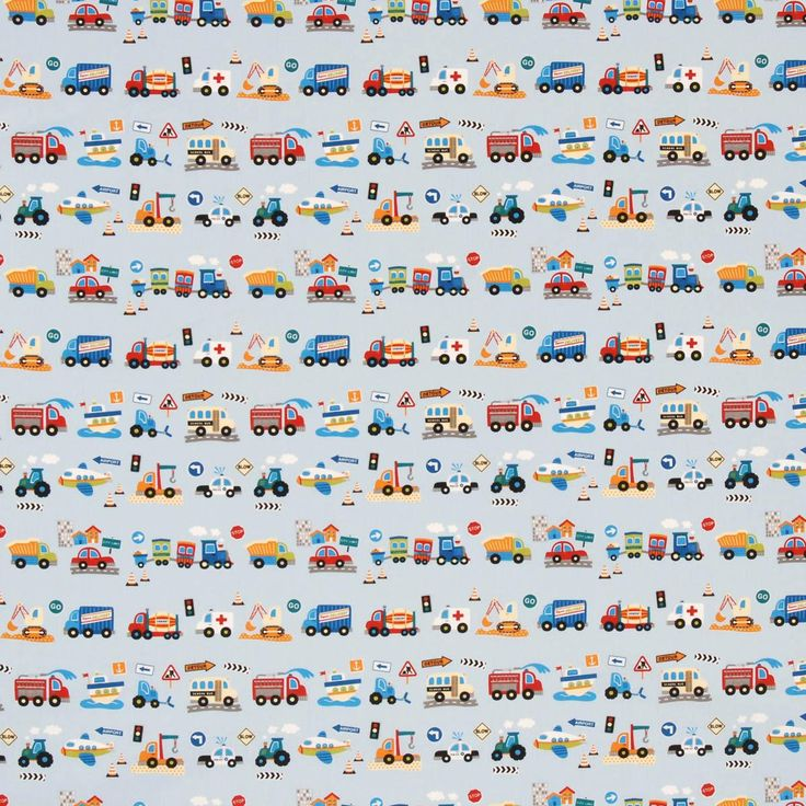 Klaxon Curtain Fabric Blue | Cheap Prints & Checks Curtain Fabrics | UK Delivery