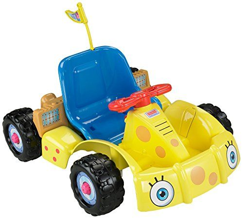 Special Offers - Power Wheels Nickelodeon SpongeBob SquarePants Get Set Go! Kart - In stock & Free Shipping. You can save more money! Check It (May 08 2016 at 11:59AM) >> http://kidsscooterusa.net/power-wheels-nickelodeon-spongebob-squarepants-get-set-go-kart/