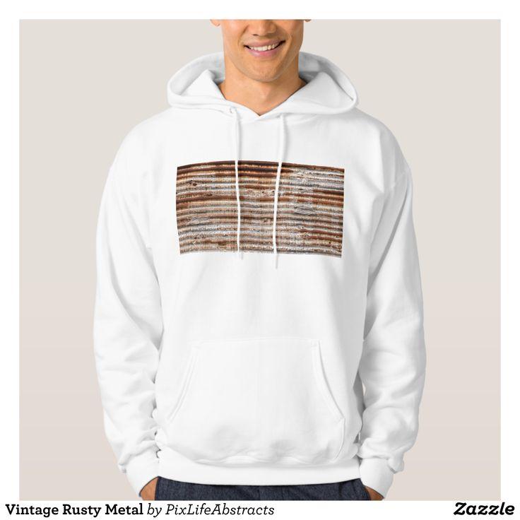Vintage Rusty Metal Hoodie - Stylish Comfortable And Warm Hooded Sweatshirts By Talented Fashion & Graphic Designers - #sweatshirts #hoodies #mensfashion #apparel #shopping #bargain #sale #outfit #stylish #cool #graphicdesign #trendy #fashion #design #fashiondesign #designer #fashiondesigner #style
