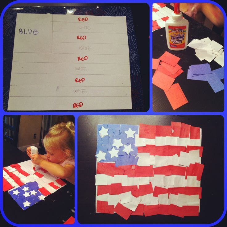 Fourth Of July Crafts For Toddlers   4th of July craft for kids