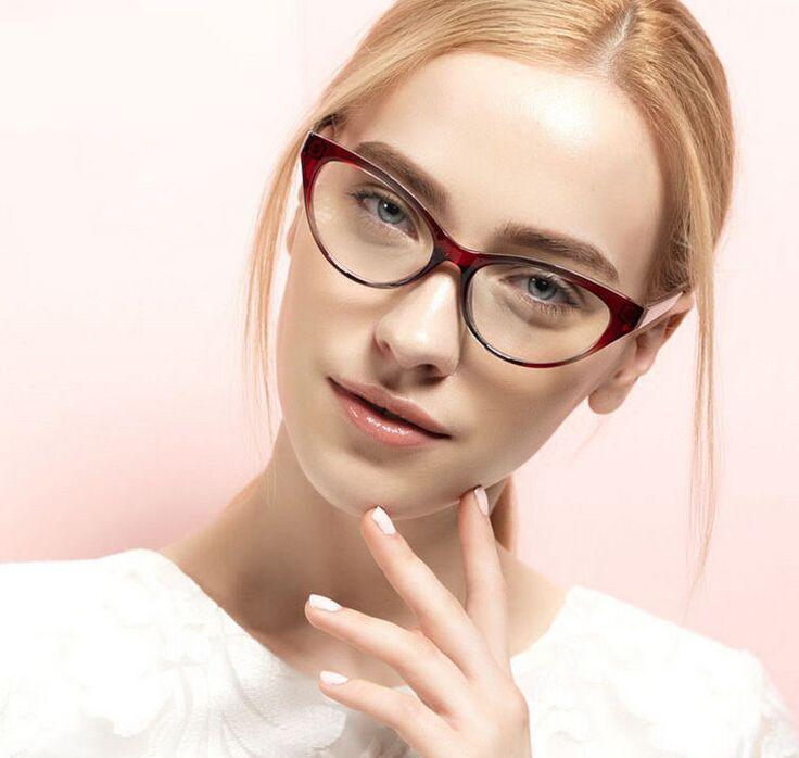 New Fashion Eyeglass Frame Rx-able Glasses Optical Eyewear Spetacles Girl Women  #Unbranded