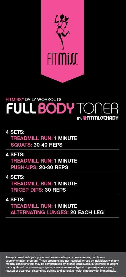FitMiss Full Body Toner Workout