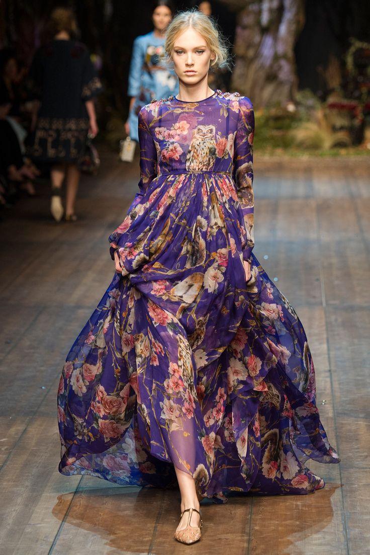 Fall 2014 Ready-to-Wear - Dolce & Gabbana Montague