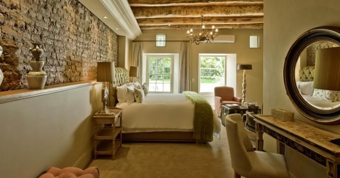 Villa in Franschhoek - for Sarah Ord Interiors