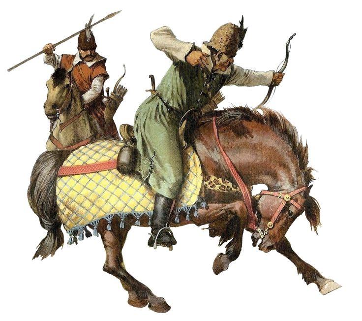 Wallachian cavalry, 15th century