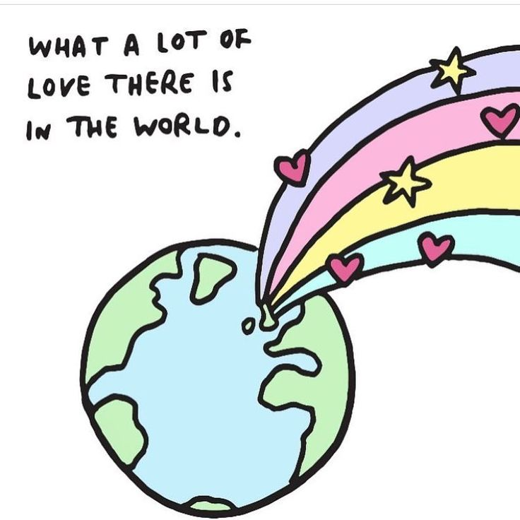I love this from @veronicadearly love really does make the world go round - life is short so love as much as you can 💗💔