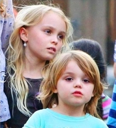 Lily-Rose and Jack Depp... two children I've put through college just by buying their father's movies...