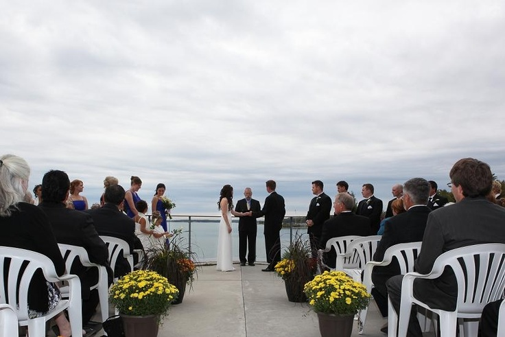 Wedding at the Stockey Centre in Parry Sound, Ontario