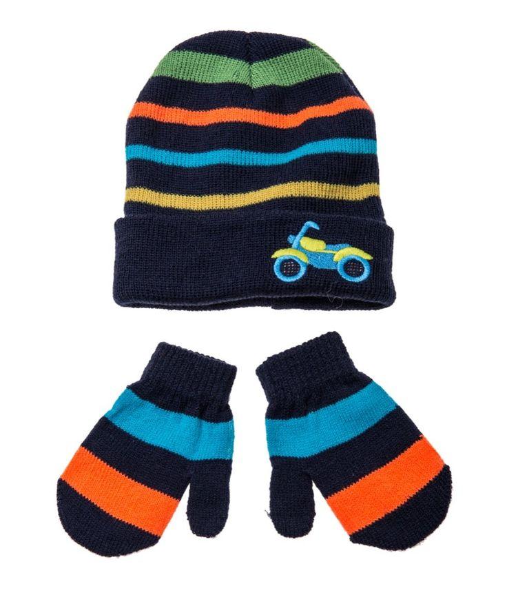 Rock A Bye Baby βρεφικό σετ σκουφάκι-γάντια «Bike»  €4,90