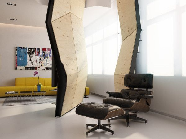 Transforming Apartment Maximizes Small Space in interior design architecture  Category
