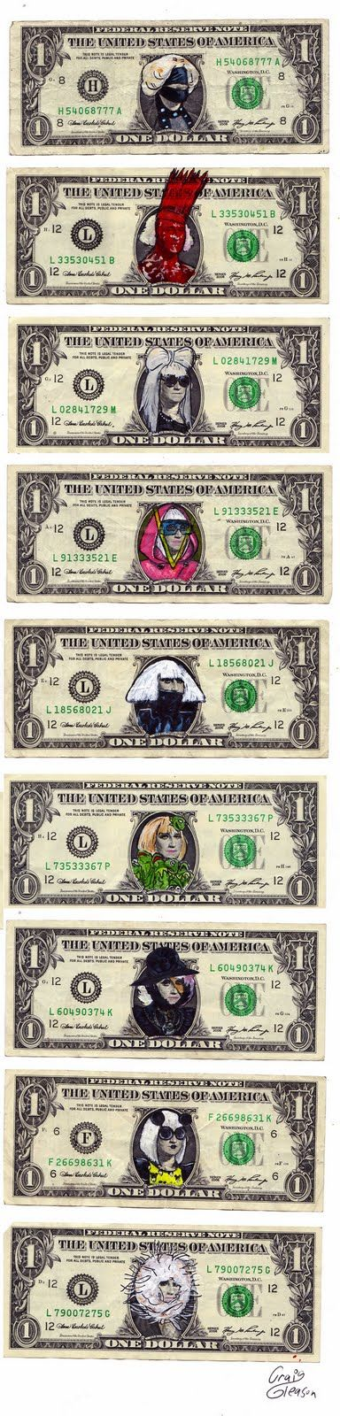 lady gaga on money