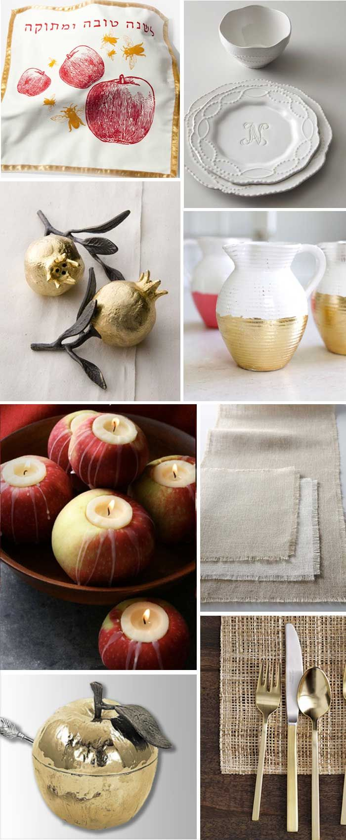Rosh Hashanah Style: Juicy Red and Gold