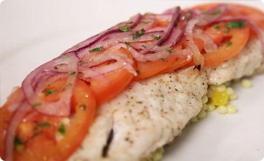 Rockfish Grilled in Foil - Santa Monica Seafood Market & Cafe